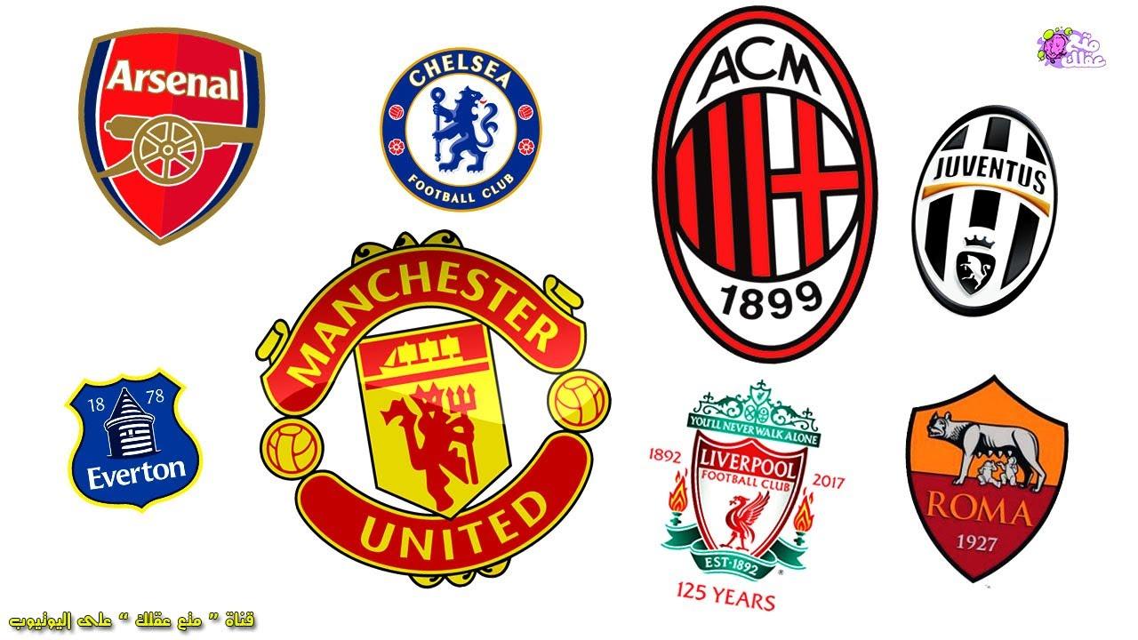 تصميم شعارات فرق كرة القدم