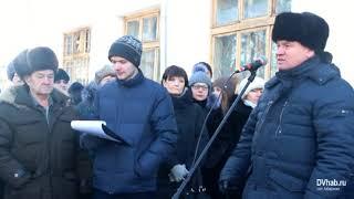 В Биробиджане открыли мемориальную доску Никите Шевченко