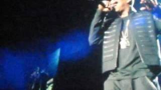 jay z young jeezy bp3 tour my president is black minority report at the new orleans arena