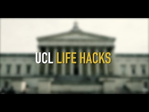 UCL Life Hacks - Shortcuts