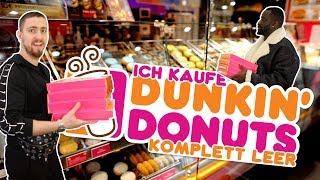 Ich kaufe Dunkin' Donuts LEER 🍩