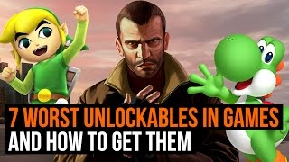 7 worst unlockables in gaming and how to get them