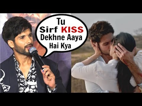 Shahid Kapoor ANGRY On Reporter For Asking About KISSING Scene In Kabir Singh Movie Trailer Mp3