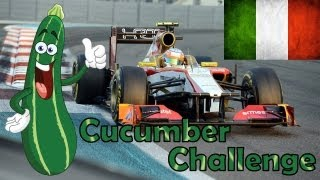 F1 2012 Career Mode Part 13: Italy (Cucumber Challenge)