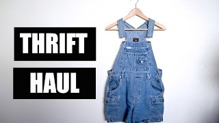 New Thrift Haul | The Fashion Citizen