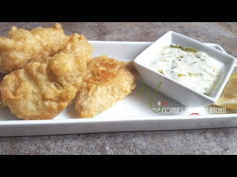 GARDEIN INSPIRED... VEGAN BATTERED FISH FILET - Jackfruit   | Connie's RAWsome Kitchen