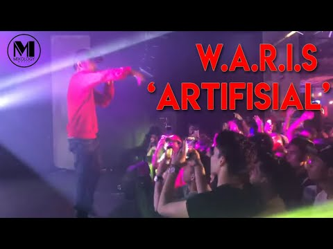 "W.A.R.I.S performing ""Artifisial"" 