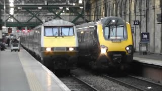 Trains at Edinburgh Waverley | 17/01/15