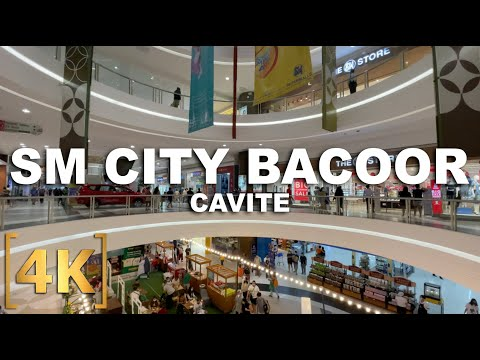 SM City Bacoor | Mall Walking Tour | 4K | Bacoor City, Cavite, Philippines