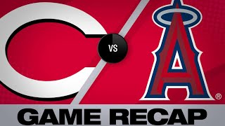 Renfigo's 3-run HR propels Angels to win | Reds-Angels Game Highlights 6/25/19
