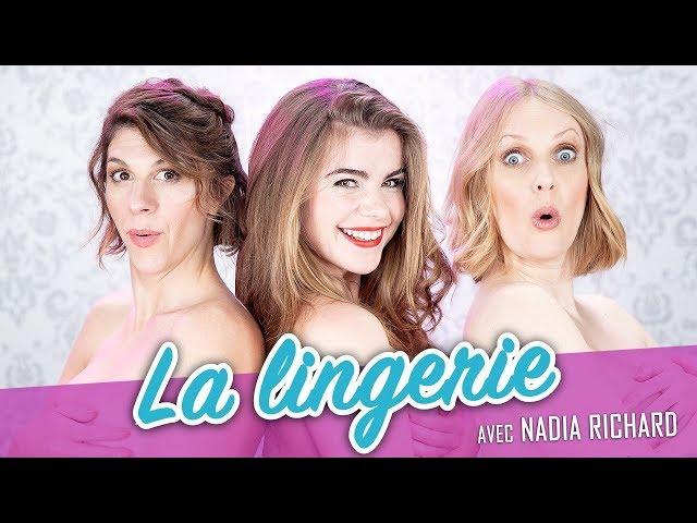 La lingerie (feat. NADIA RICHARD) - Parlons peu Mais Parlons