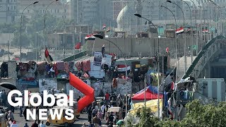 4 killed, another 48 injured as protests continue in Baghdad, Iraq