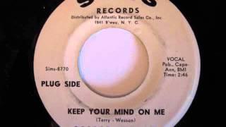 Roscoe Shelton- Keep Your Mind On Me