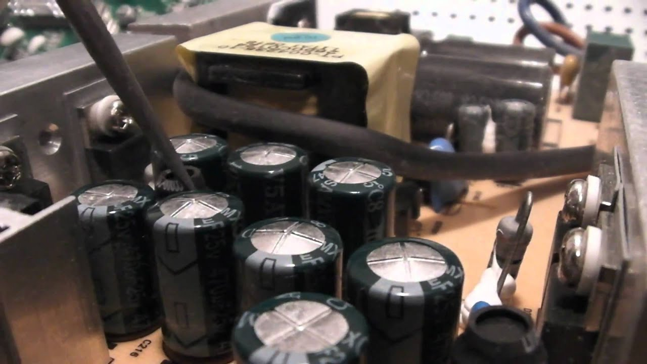 Monitor blinking power button repair