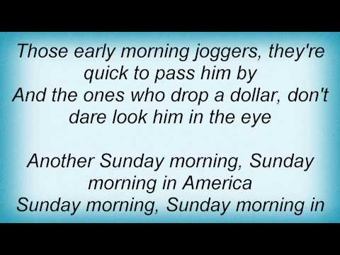 Keith Anderson - Sunday Morning In America Lyrics