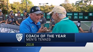 UCLA's Billy Martin collects Pac-12 Men's Tennis Coach of the Year award