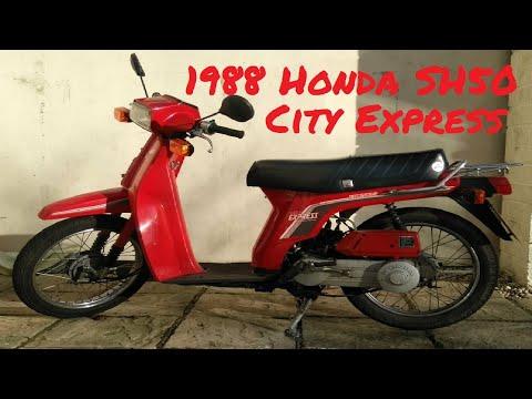 Honda SH50 City Express Moped 🛵