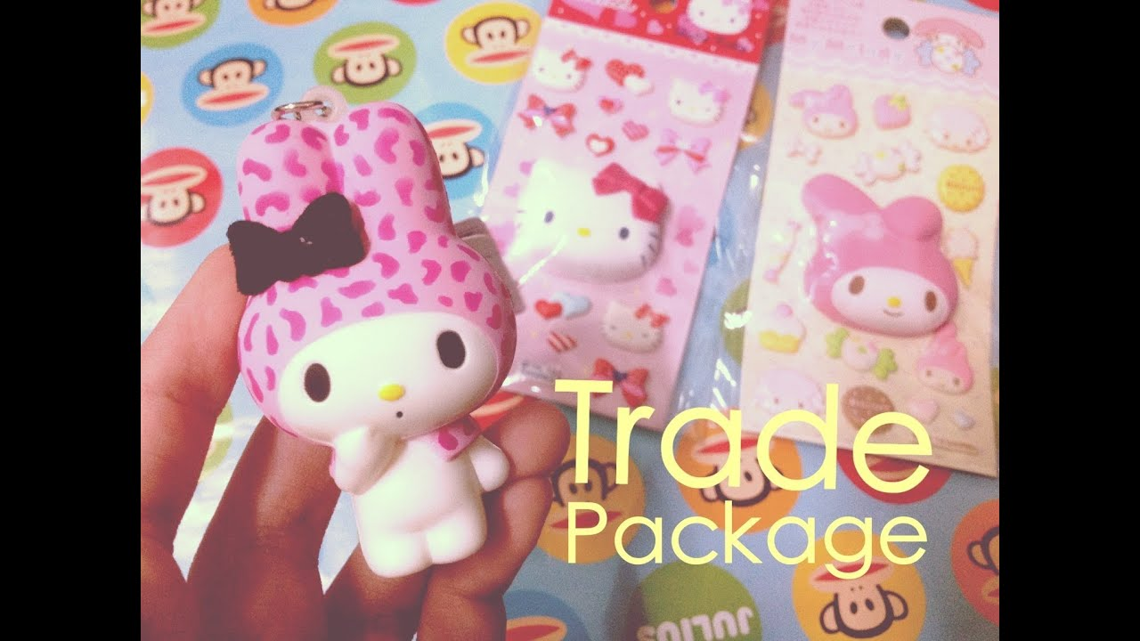 Rare Squishy Package : Rare Squishy Trade Package from Thailand - YouTube
