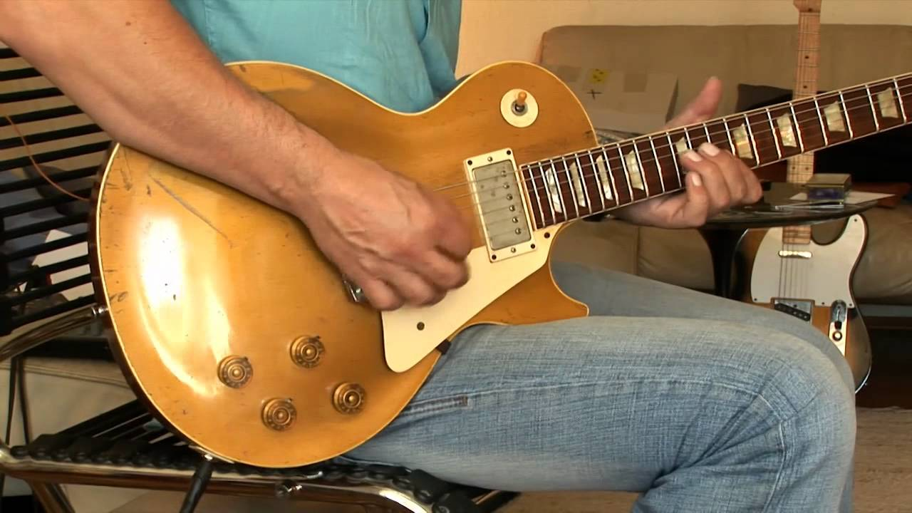1953 gibson les paul std goldtop part7 alt jazz take youtube. Black Bedroom Furniture Sets. Home Design Ideas