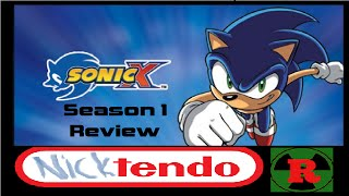 Sonic X Season 1 Review - Anything But Fast (ft. The Nuclear Reviewer)
