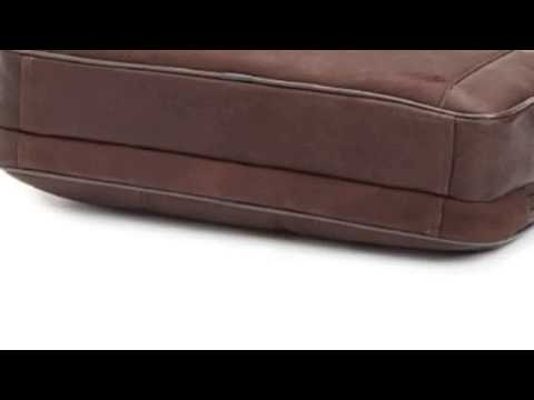 Kenneth Cole Reaction Luggage Double Play Brief, Brown, Medium