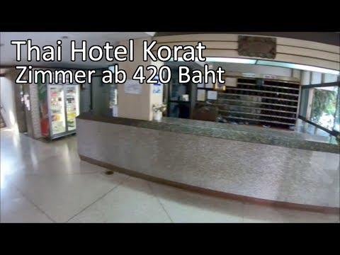 Thai Hotel Korat/Zimmer ab 420 Baht