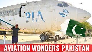 EXPLORING THE AVIATION WONDERS OF KARACHI PAKISTAN!