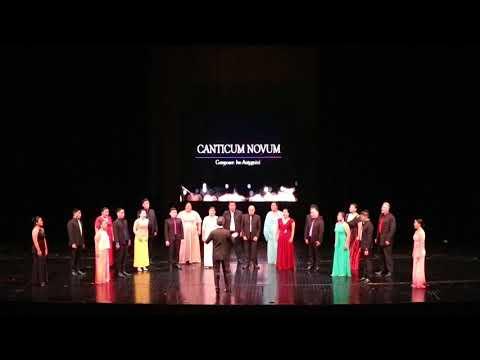 Canticum Novum - Ivo Antognini | Novo Concertante Manila