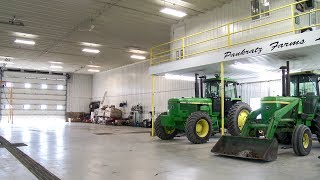 Custom Farm Shop with Mezzanine
