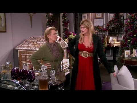 Kirstie's Mother Cloris Leachman Comes To Visit For The Holidays