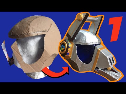 DIY: Make Fortnite Dj Yonder Helmet part 1, free templates