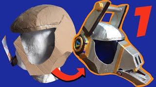 DIY: Make Fortnite Dj Yonder Helmet part 1, free templates