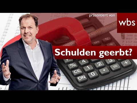 Schulden geerbt? Was kann ich tun? | Nutzerfrage Rechtsanwalt Christian Solmecke