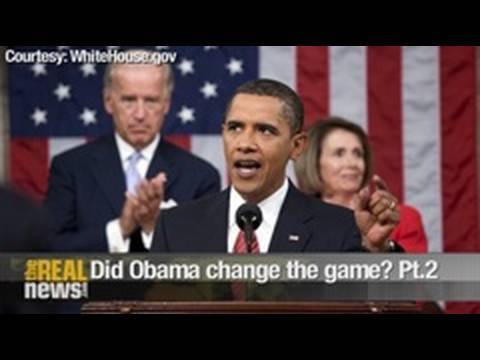 Did Obama  change the game? Pt.2