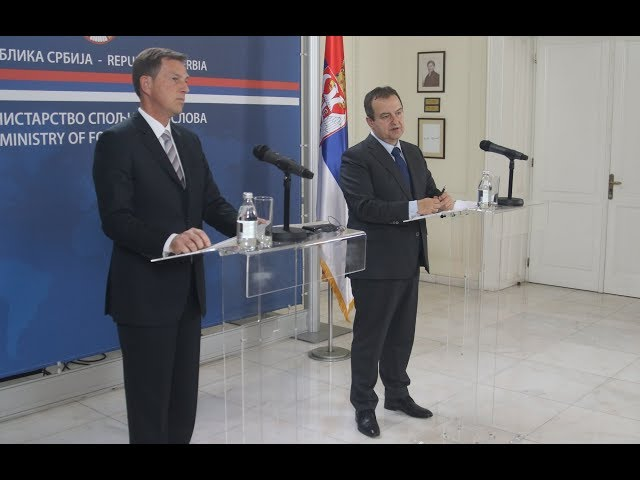 [02.12.2019.] Министри Дачић и Церар на конференцији за новинаре
