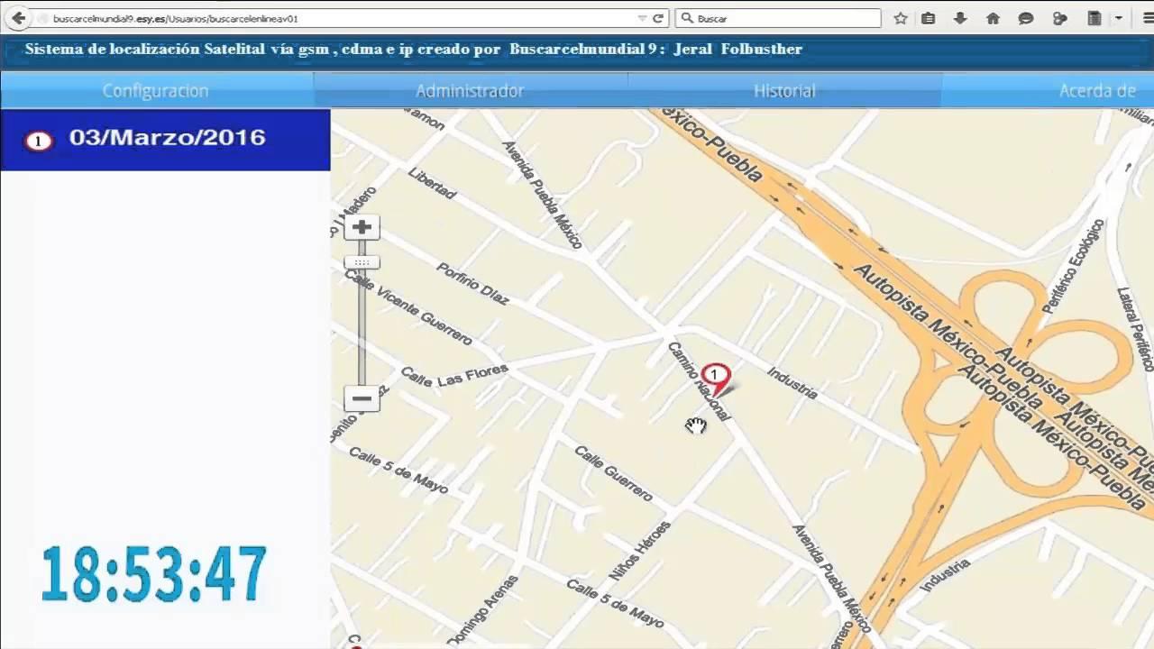 Rastrear y Localizar un Celular por GPS