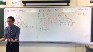 Stating the Binomial Theorem w/ Factorial Notation