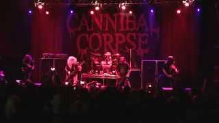 Cannibal Corpse live @ House of blues (Dallas) 01/31/15