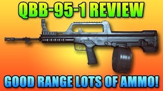 Battlefield 4 QBB-95-1 LMG Review - Long Range & Plenty Of Ammo!