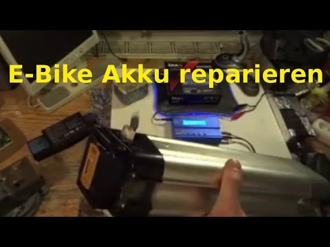E-Bike Akku reparieren
