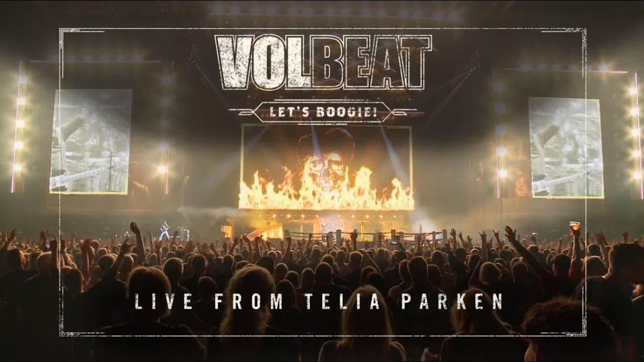 Volbeat - Let's Boogie! Live From Telia Parken (official album trailer)