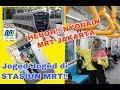 NYOBAIN MRT JAKARTA YG SUPER KEREN! JOGET DEPAN UMUM? INI YG TERJADI #NyenTrip01 #MRTJAKARTA #Travel