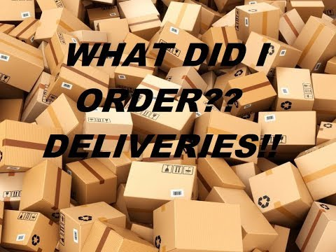 Package, package and deliveries!
