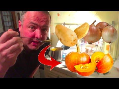 soupe-potimarron-/-pomme-de-terre-au-thermomix-simple-et-rapide