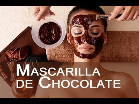 Mascarilla de Chocolate Rejuvenece Todo Tipo Pieles y