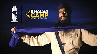 Amasingh at Khalsa Camp 16