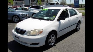 2006 Toyota Corolla CE Walkaround, Start up, Tour and Overview