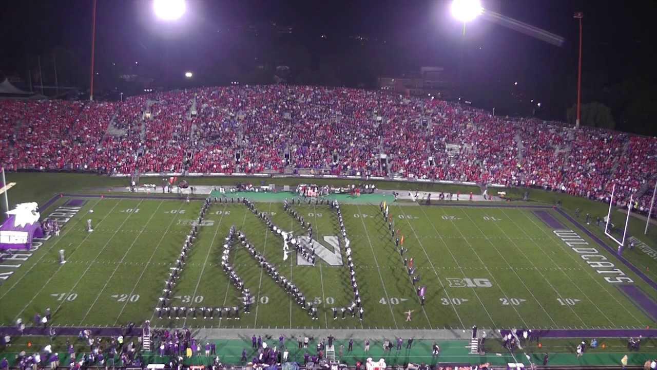 northwestern football vs ohio state numb pregame youtube