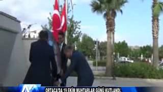 AYTV AYDIN Ortaca'da 19 Ekim Muhtarlar Günü kutlandı