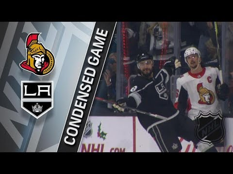 Ottawa Senators vs Los Angeles Kings – Dec. 07, 2017 | Game Highlights | NHL 2017/18. Обзор матча